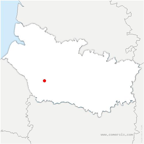 carte de localisation de Hornoy-le-Bourg