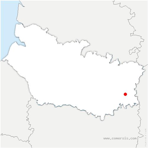 carte de localisation de Mesnil-Saint-Nicaise