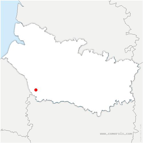 carte de localisation de Morvillers-Saint-Saturnin