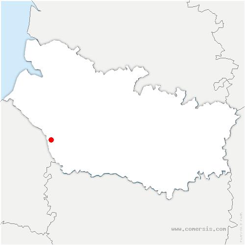 carte de localisation de Neuville-Coppegueule