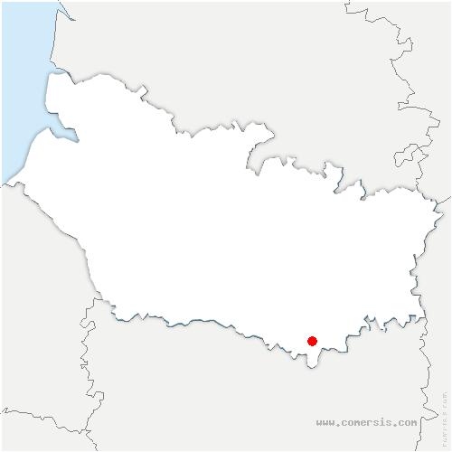 carte de localisation de Piennes-Onvillers
