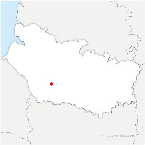 carte de localisation de Saint-Aubin-Montenoy
