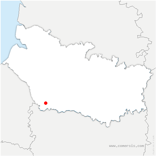 carte de localisation de Sainte-Segrée