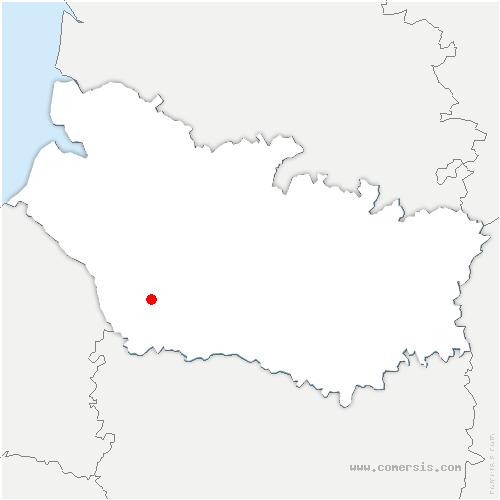 carte de localisation de Thieulloy-l'Abbaye