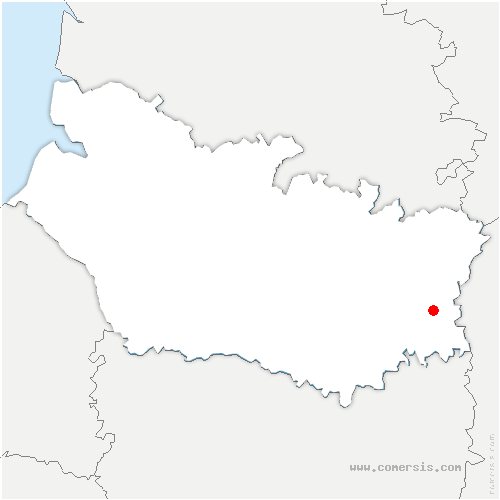 carte de localisation de Y