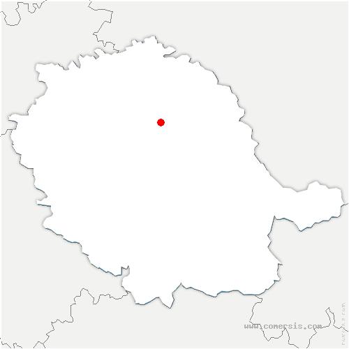 carte de localisation d'Albi