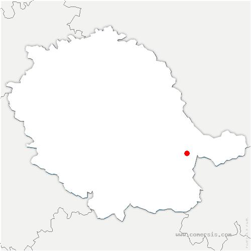 carte de localisation de Fontrieu