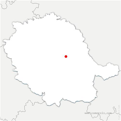 carte de localisation de Terre-de-Bancalié