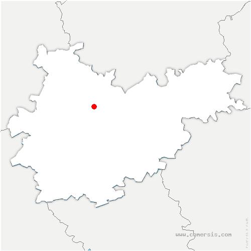 carte de localisation de Moissac