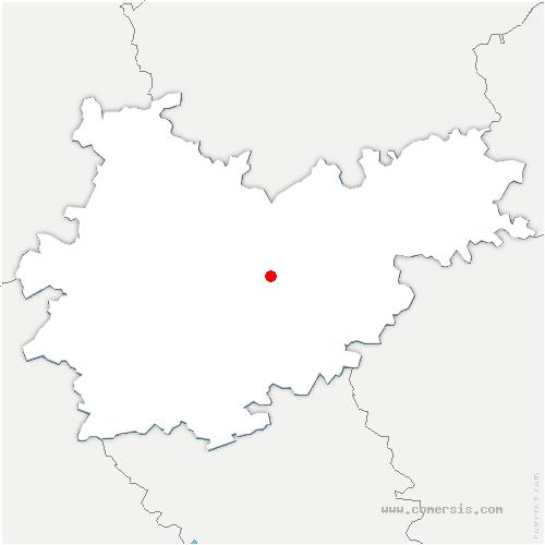 carte de localisation de Montauban