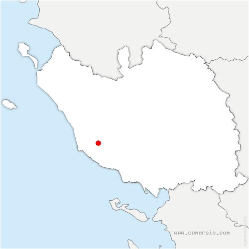 carte de localisation de Sainte-Foy