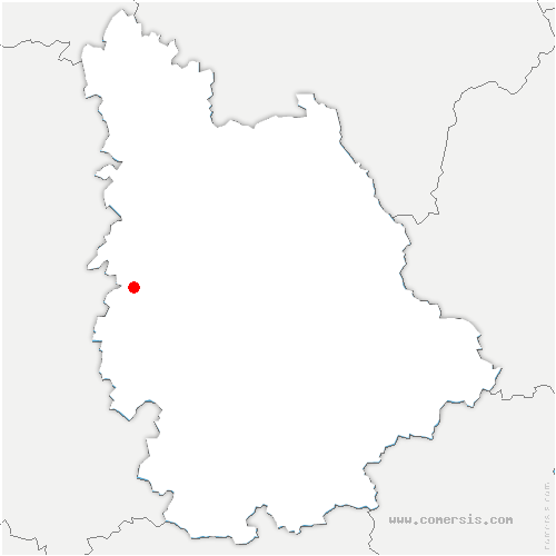 carte de localisation de Boivre-la-Vallée