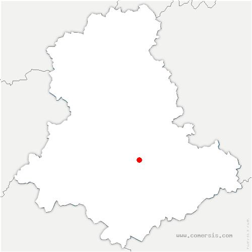 carte de localisation de Boisseuil