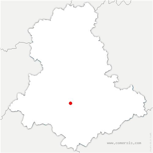 carte de localisation de Burgnac