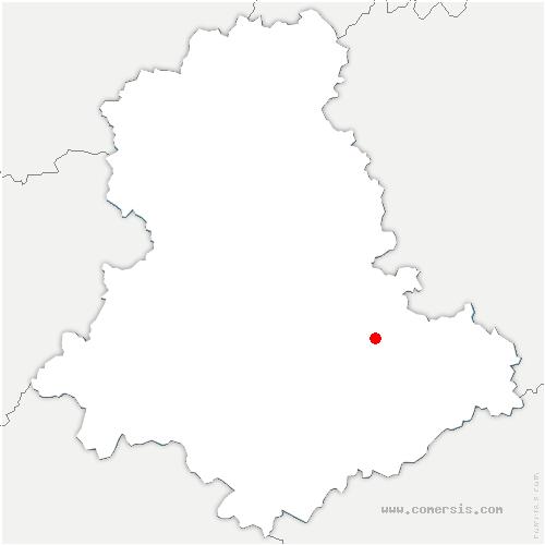 carte de localisation de Eybouleuf