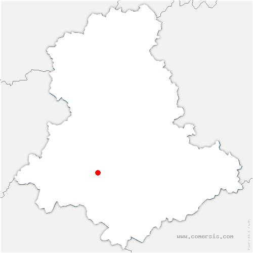 carte de localisation de Flavignac