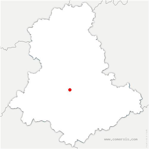 carte de localisation de Isle