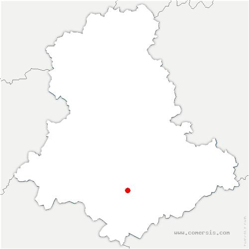 carte de localisation de Janailhac
