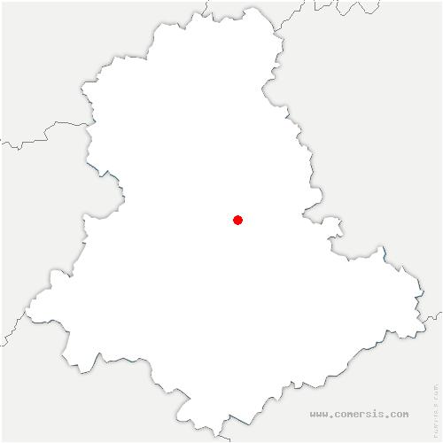 carte de localisation de Limoges