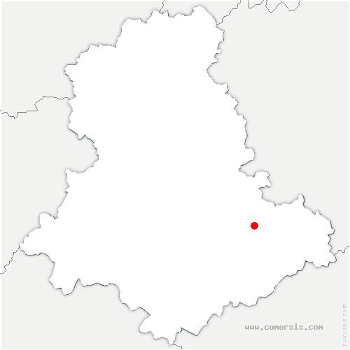 carte de localisation de Masléon