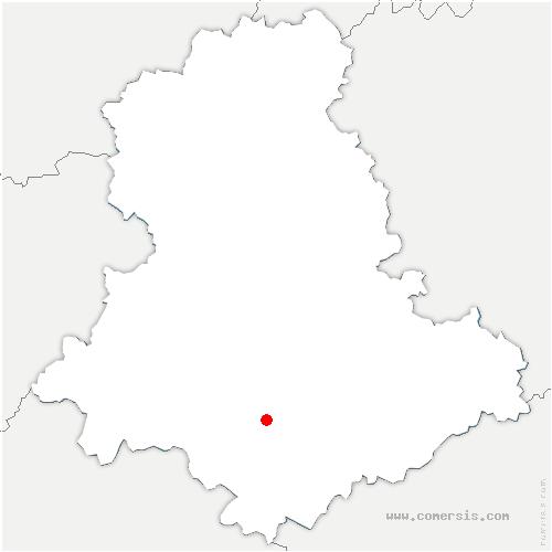 carte de localisation de Nexon