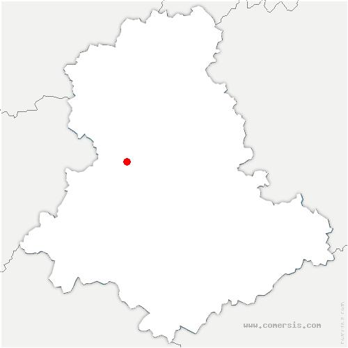 carte de localisation de Peyrilhac