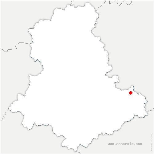 carte de localisation de Saint-Julien-le-Petit