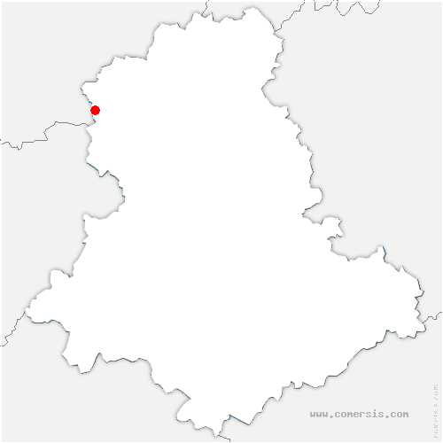 carte de localisation de Saint-Martial-sur-Isop