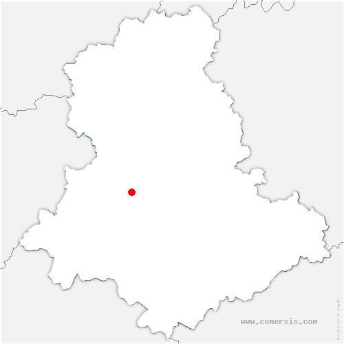 carte de localisation de Saint-Yrieix-sous-Aixe