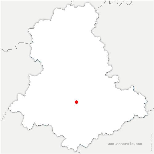 carte de localisation de Solignac