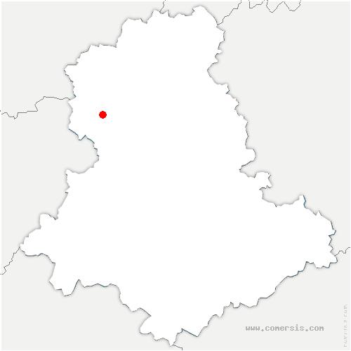 carte de localisation de Val-d'Issoire