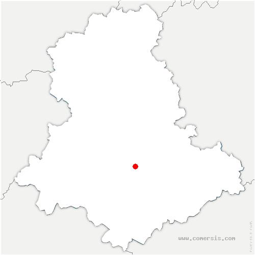 carte de localisation de Vigen