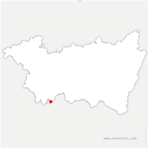 carte de localisation de Ameuvelle