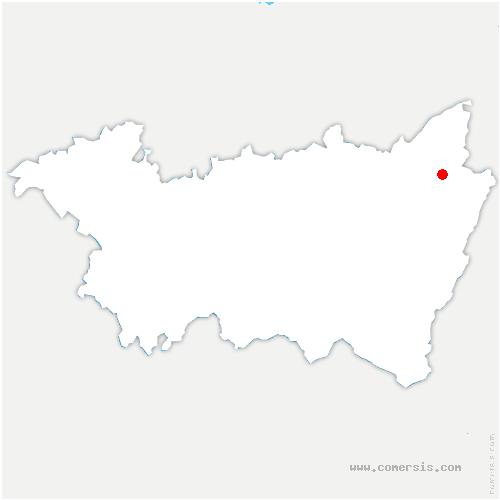 carte de localisation de Ban-de-Sapt