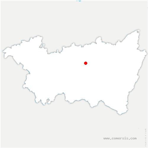 carte de localisation de Capavenir-Vosges