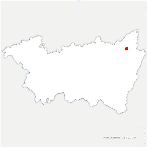 carte de localisation de Denipaire