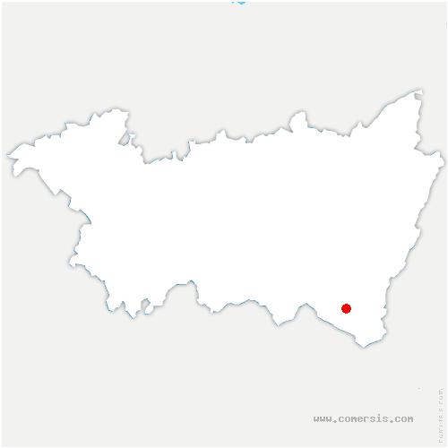 carte de localisation de Ferdrupt