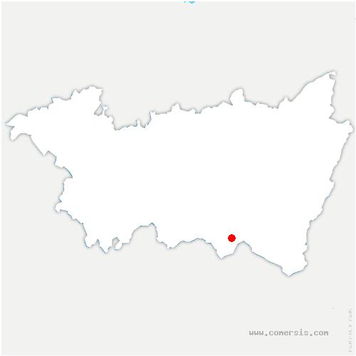 carte de localisation de Girmont-Val-d'Ajol