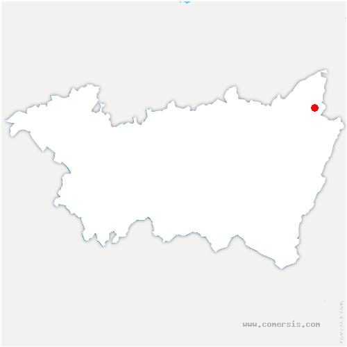 carte de localisation de Grandrupt
