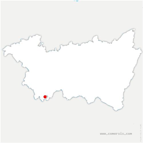 carte de localisation de Grignoncourt