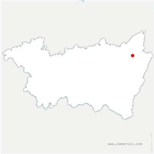 carte de localisation de Hurbache
