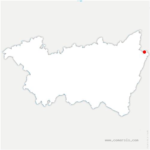 carte de localisation de Lubine