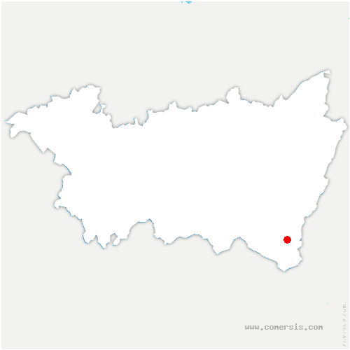 carte de localisation de Ménil