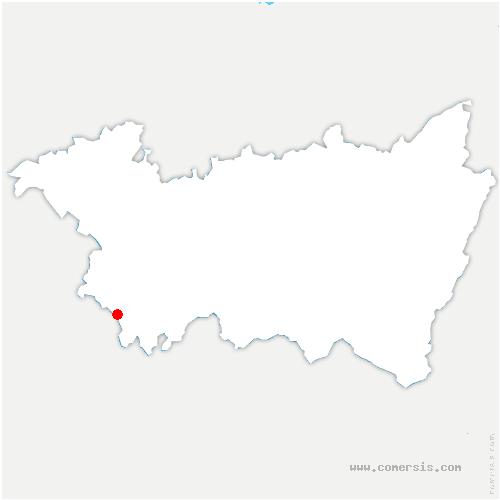 carte de localisation de Mont-lès-Lamarche