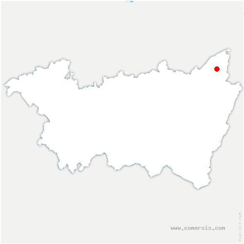 carte de localisation de Mont