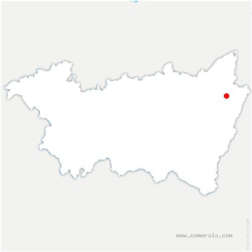 carte de localisation de Pair-et-Grandrupt