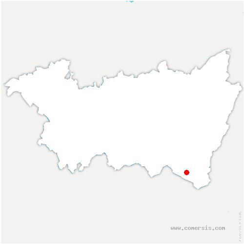 carte de localisation de Ramonchamp