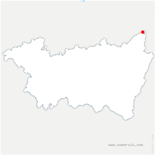 carte de localisation de Raon-sur-Plaine