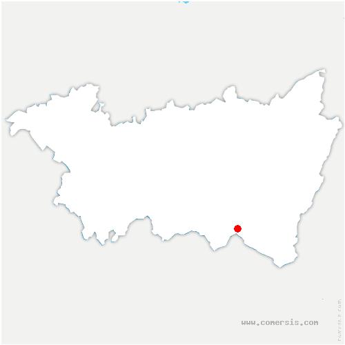 carte de localisation de Rupt-sur-Moselle