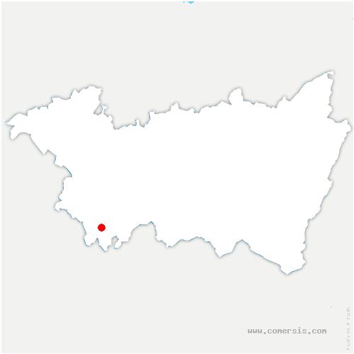 carte de localisation de Saint-Julien